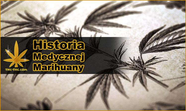 medyczna marihuana, konopi indyjskie, w medycynie, historia
