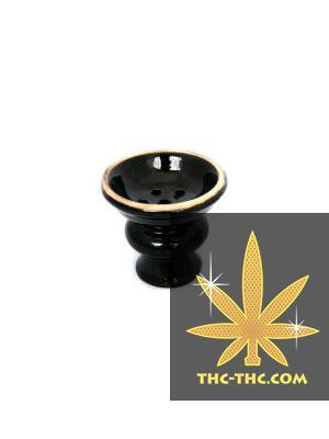 Cybuch Ceramiczny do Shishy, Średni, Czarny, Produkt, Sklep