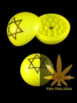 Młynek Kulka Akrylowy Magnetyczny Żółty, Produkt, Sklep