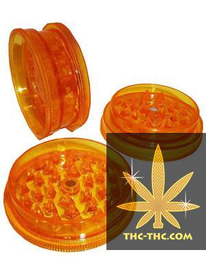 Młynek Płaski Akrylowy Magnetyczny Pomarańczowy, Produkt, Sklep