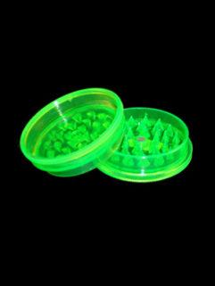 Młynek Płaski Akrylowy Magnetyczny Zielony, Produkt, Sklep