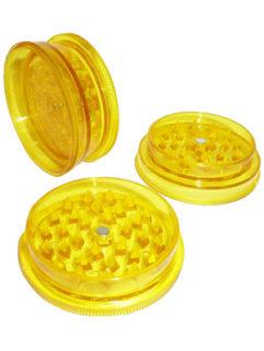 Młynek Płaski Akrylowy Magnetyczny Żółty, Produkt, Sklep
