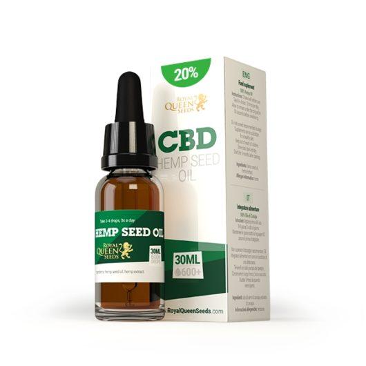 Olej CBD z Nasion Konopi 20%, 30ml - Royal Queen Seeds, Produkt, Sklep