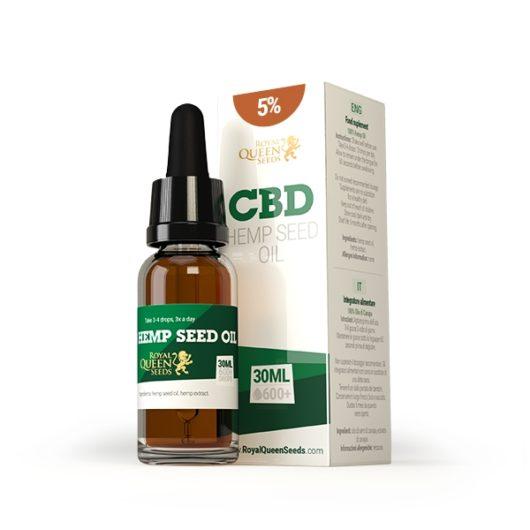 Olej CBD z Nasion Konopi 5%, 30ml - Royal Queen Seeds, Produkt, Sklep