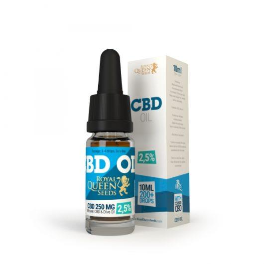 Olej Konopny CBD 2.5%, 10ml - Royal Queen Seeds, Produkt, Sklep