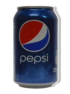Puszka Pepsi Schowek, Produkt, Sklep